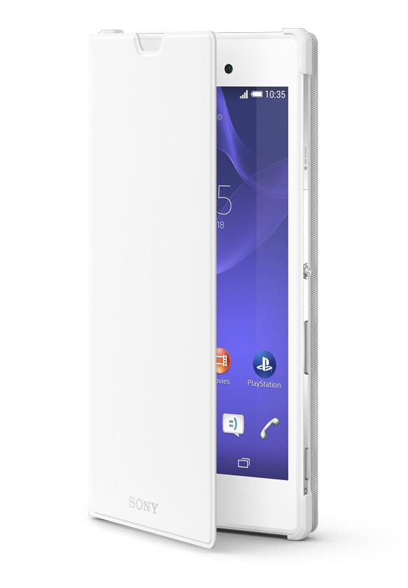 SCR16 Sony Style Cover pro Xperia T3 White