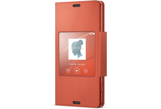 SCR26 Sony Smart Cover pro Xperia Z3 Compact Orange