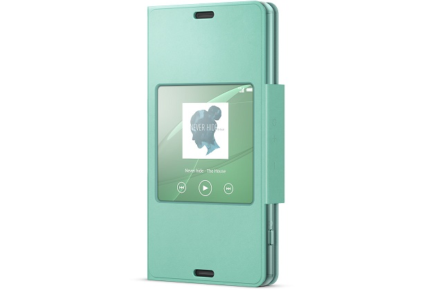SCR26 Sony Smart Cover pro Xperia Z3 Compact Green