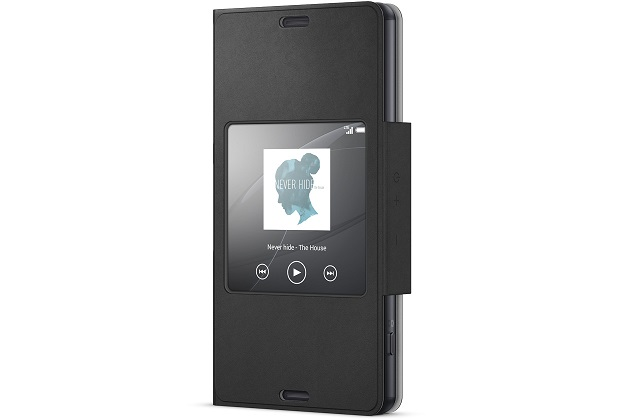 SCR26 Sony Smart Cover pro Xperia Z3 Compact Black
