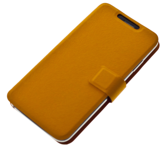 """Univerzální pouzdro BOOK ULTRA Folio Flip velikost L (4,5""""- 5"""") orange"""