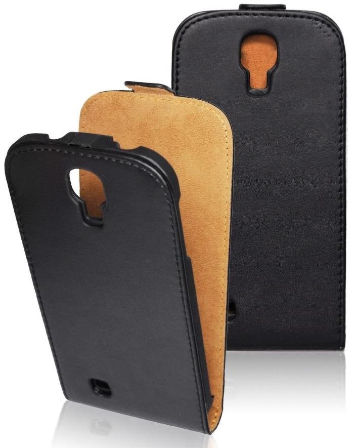Pouzdro ForCell Slim2 Flip pro Samsung G355 Galaxy Core2, černé
