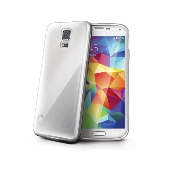 Silikonové TPU pouzdro CELLY Gelskin pro Samsung G800 Galaxy S5 mini, průhledné