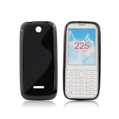Silikonové TPU pouzdro S-Line pro Nokia 225, černé