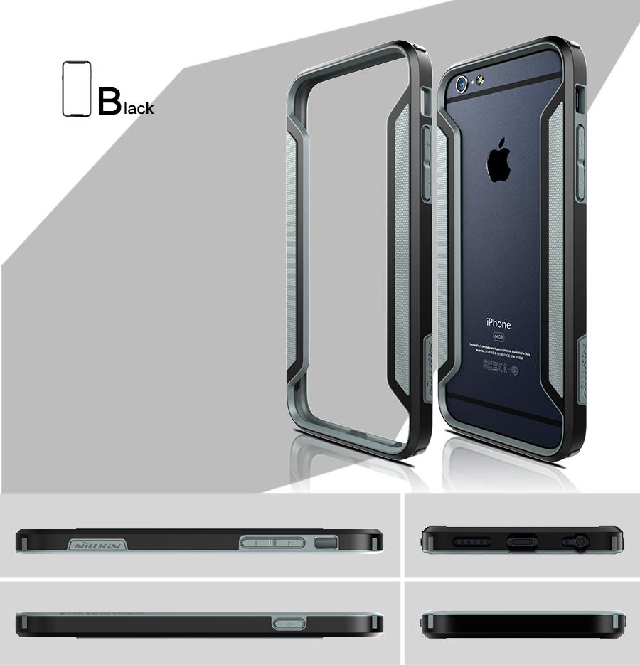 Ochranný rámeček Nillkin Armor Bumper pro Apple iPhone 6, černý