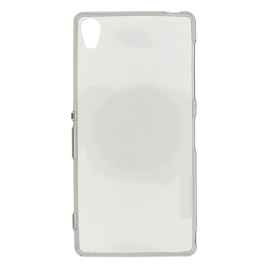 Silikonové pouzdro Nillkin Nature pro Sony Xperia Z3 (D6603) šedé