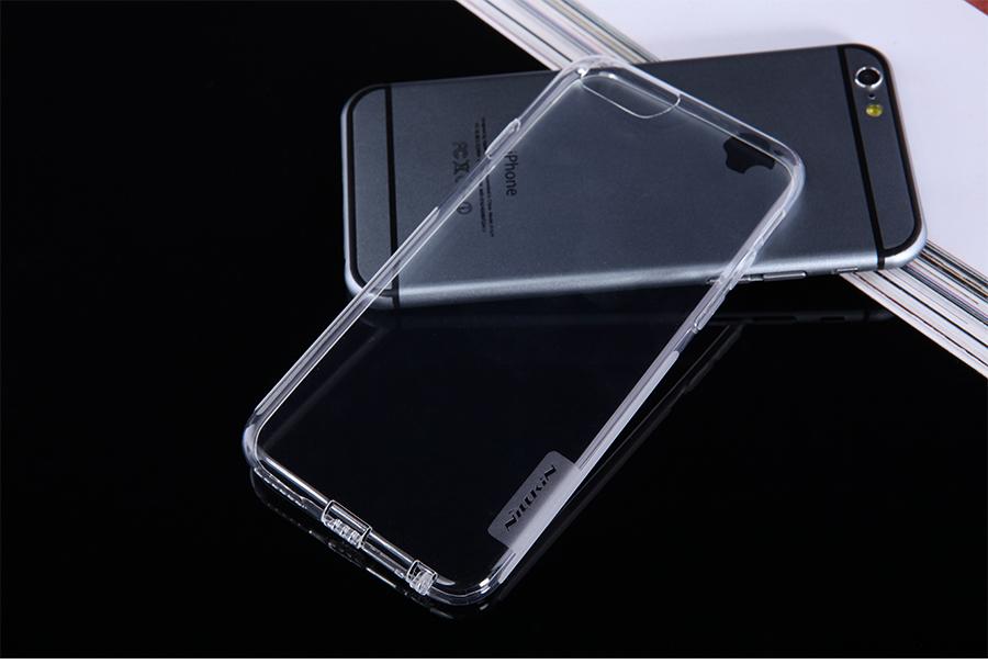 Silikonový obal pro Apple iPhone 6 bezbarvé, Nillkin Nature