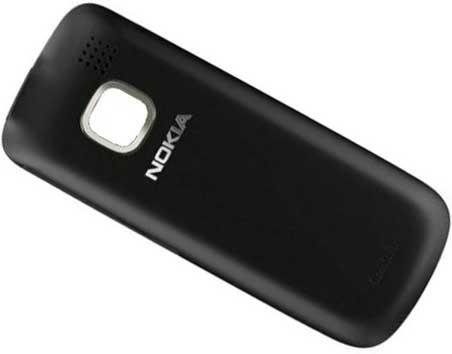 Zadní kryt baterie pro Nokia C2-00, černý