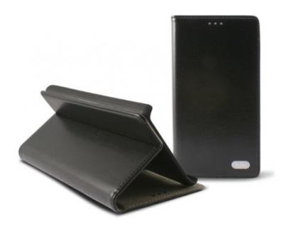 Odklápěcí pouzdro K6 Folio Flip pro Huawei Ascend P7, černé (Blister)