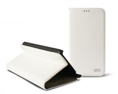 Odklápěcí pouzdro K6 Folio Flip pro Samsung G800 Galaxy S5 mini, bílé (Blister)