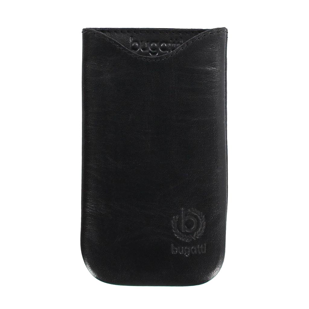 Kožené pouzdro Bugatti Slim Fit pro Samsung i8190 Galaxy S3mini, černé