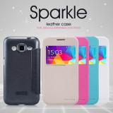 Flip pouzdro Nillkin Sparkle S-View pro Samsung G360 Galaxy Core Prime, černé