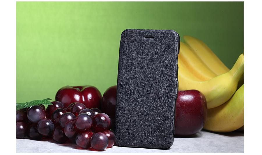 Flipové pouzdro Nillkin Fresh Folio pro Huawei Honor 3C, černé