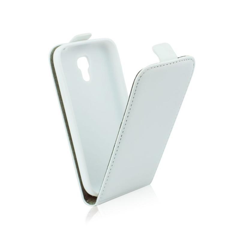 Pouzdro ForCell Slim Flip Flexi pro Samsung G357 Galaxy Ace4, bílé