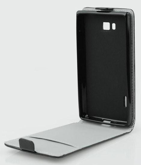 Pouzdro ForCell Slim Flip Flexi pro Alcatel OneTouch 6040D Idol X, černé