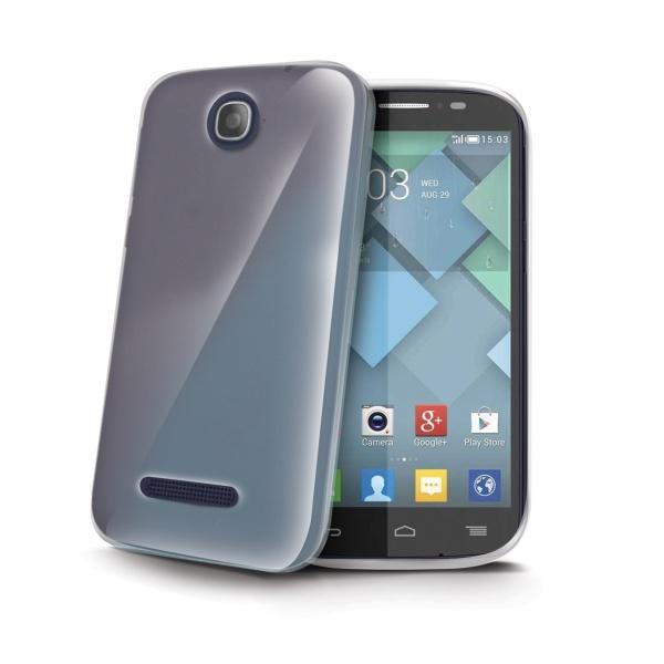 Silikonové TPU pouzdro CELLY Gelskin pro Alcatel 7041 One Touch Pop C7, bezbarvé