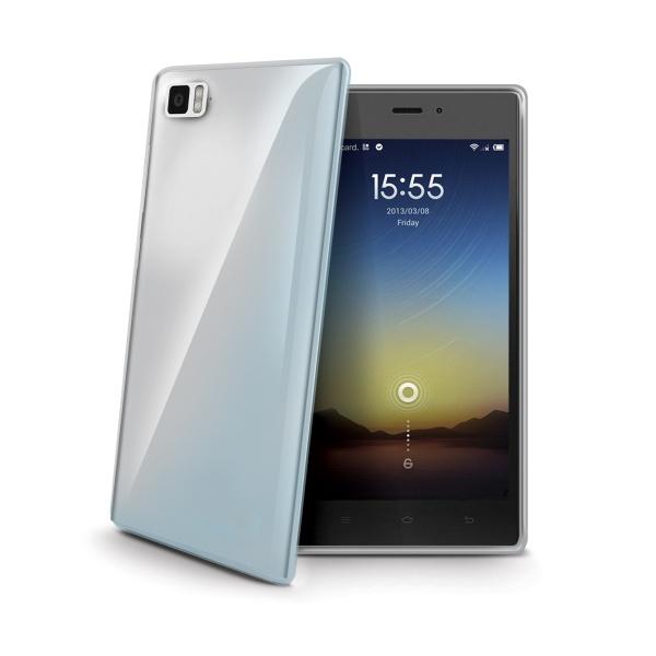 Silikonové TPU pouzdro CELLY Gelskin pro Xiaomi Mi3, bezbarvé