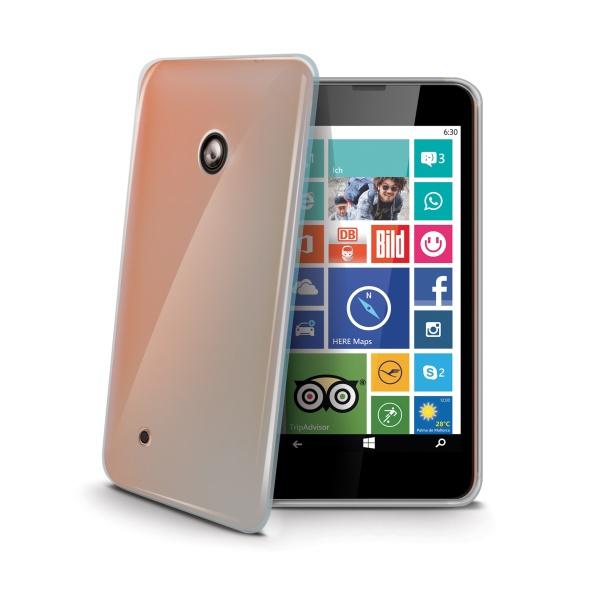 Silikonové TPU pouzdro CELLY Gelskin pro Nokia Lumia 530, bezbarvé