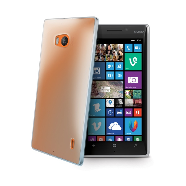 Silikonové TPU pouzdro CELLY Gelskin pro Nokia Lumia 930, bezbarvé