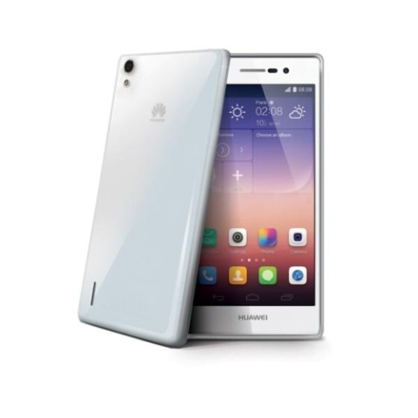 Silikonové TPU pouzdro CELLY Gelskin pro Huawei Ascend P7, bezbarvé