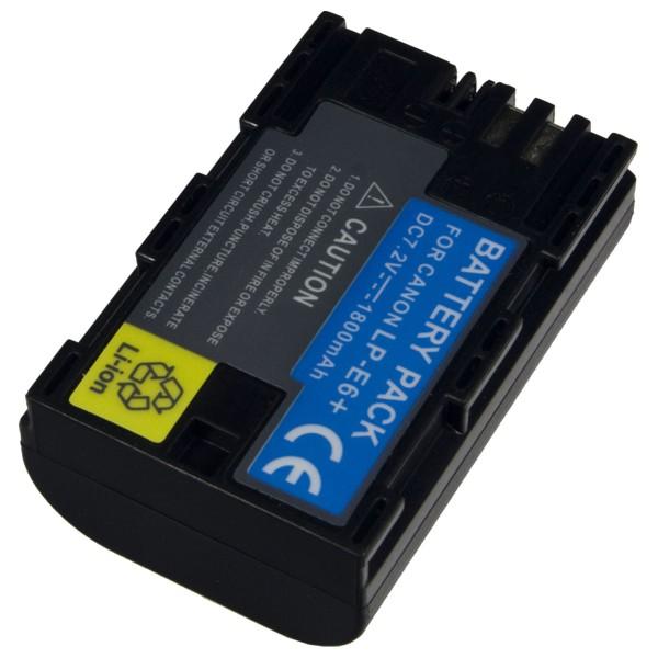 Baterie Extreme Energy typ Canon LP-E6, LI-ION 2000 mAh