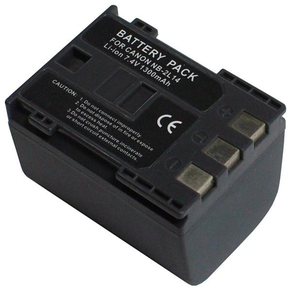 Baterie Extreme Energy typ Canon NB-2L14, LI-ION 1500 mAh, šedá