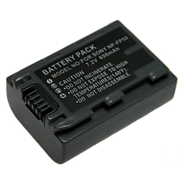 Baterie Extreme Energy typ Sony NP-FP50, LI-ION 780 mAh, šedá