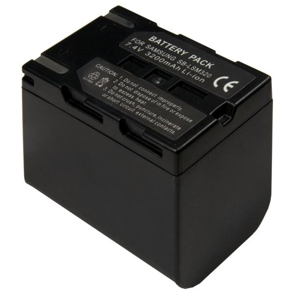 Baterie Extreme Energy typ Samsung SB-LSM320, Li-Ion 2700 mAh, šedá