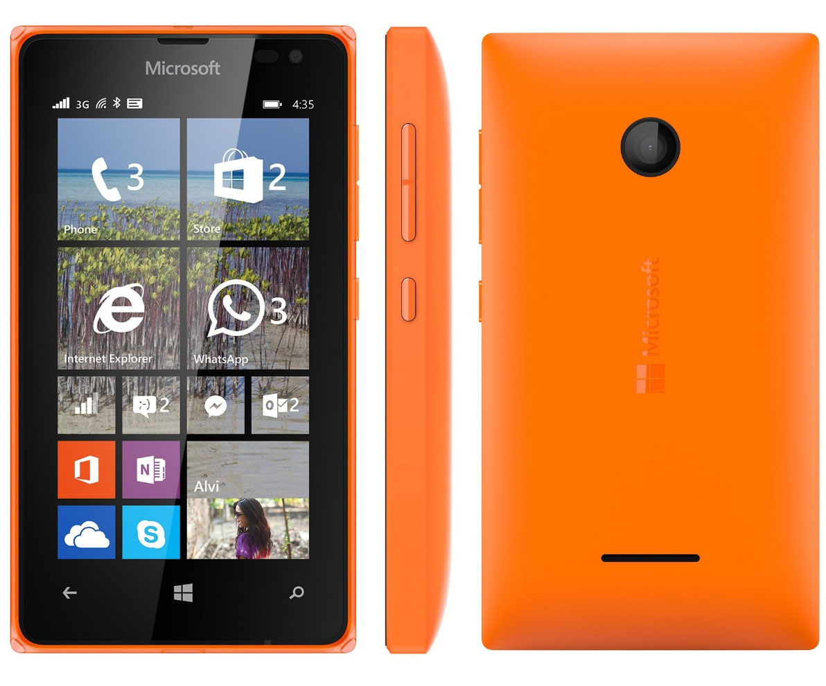 Microsoft Lumia 435 Dual SIM Orange