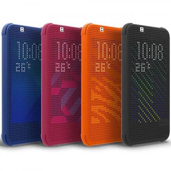 Pouzdro HTC HC M140 Dot Folio pro HTC Desire 620, černé (EU Blister)