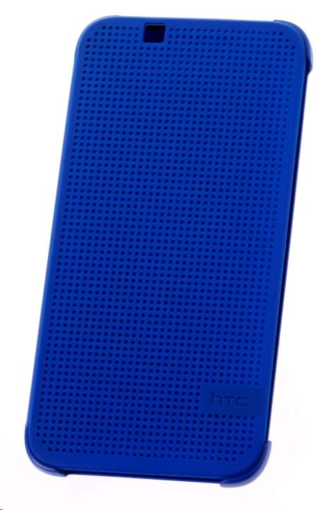 Pouzdro HTC HC M130 Dot Folio pro HTC Desire 510, modré (EU Blister)