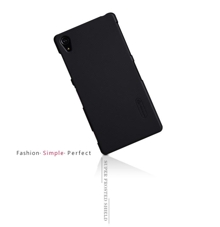 Nillkin Super Frosted zadní kryt na Sony Xperia Z3 (D6603) černý