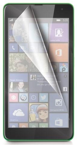 Prémiová ochranná fólie displeje CELLY Premium pro Microsoft Lumia 535, 2ks