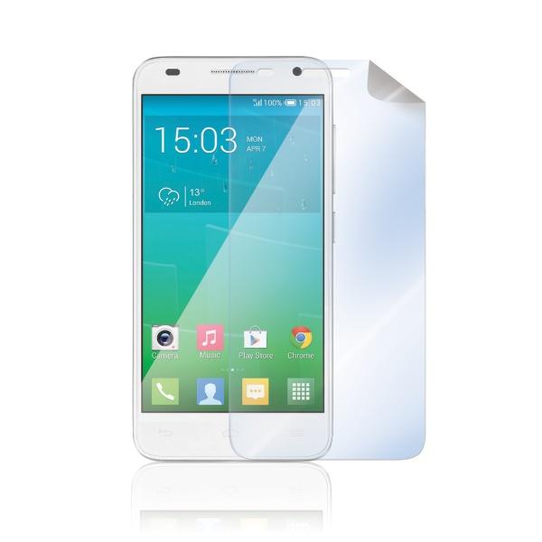 Prémiová ochranná fólie na displej CELLY Premium pro Alcatel 6036 One Touch Idol Mini 2 S, lesklá, 2ks