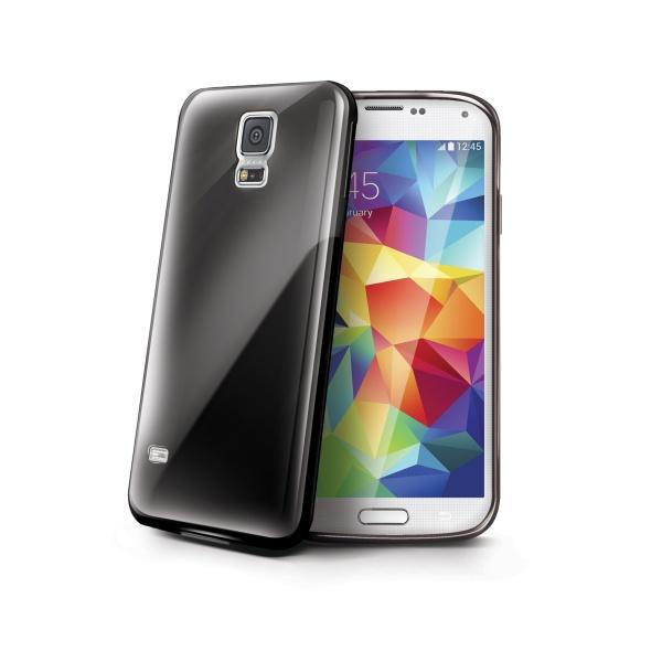 Silikonové TPU pouzdro CELLY Gelskin pro Samsung G800 Galaxy S5 mini, černé