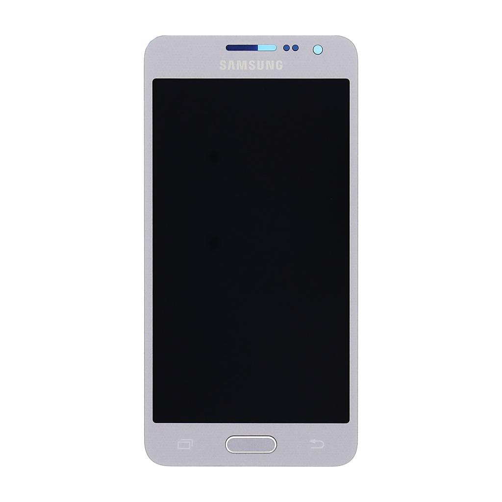 LCD display + Dotyková deska Silver pro Samsung A300F Galaxy A3 - originál