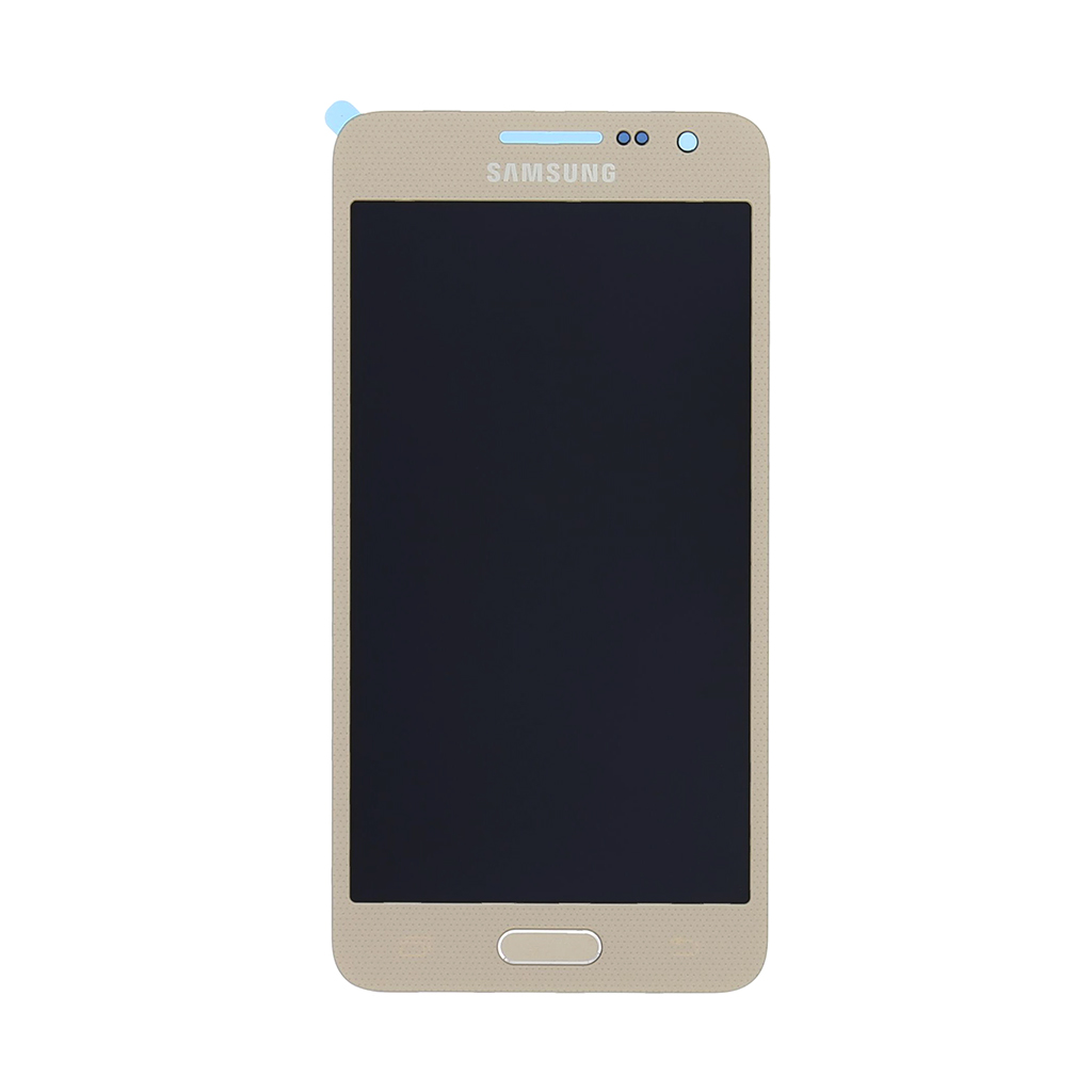 LCD display + Dotyková deska Gold pro Samsung A300F Galaxy A3 - originál