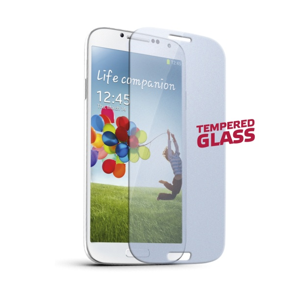 Tvrzené sklo na mobil pro Samsung Galaxy S4 CELLY Glass