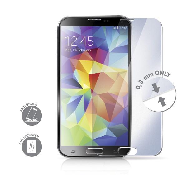 Tvrzené sklo pro mobil pro Samsung Galaxy S5 CELLY Glass