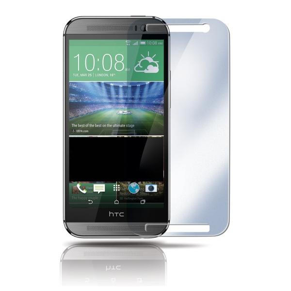 Ochranné tvrzené sklo na displej CELLY Glass pro HTC One M8