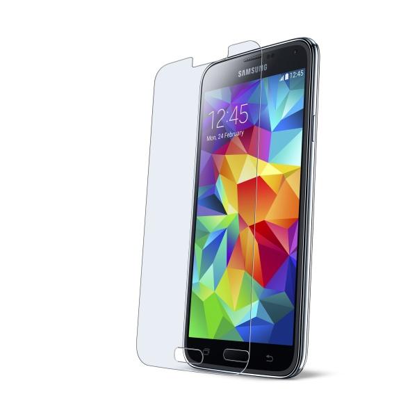 Tvrzené sklo na displej CellularLine Glass pro Samsung G900 Galaxy S5