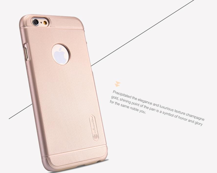 "Nillkin Super Frosted Zadní Kryt Gold pro iPhone 6 Plus 5.5"""