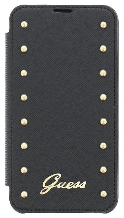 Guess Studded folio pouzdro Sams. Galaxy S4, Black