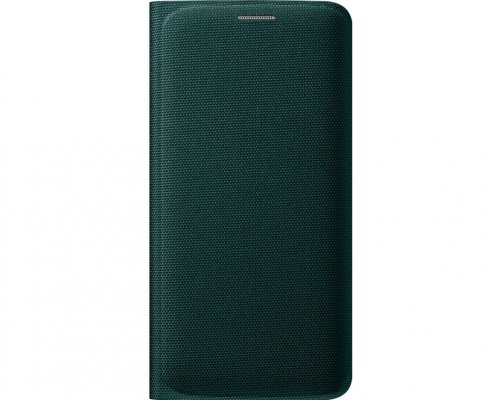 Originální pouzdro na Samsung Galaxy S6 Edge EF-WG925B zelené
