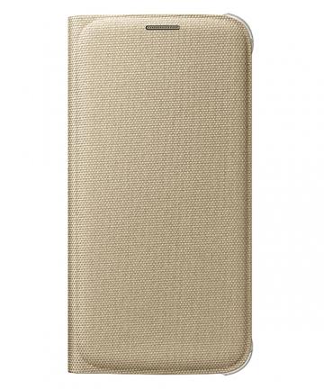 Originální pouzdro na Samsung Galaxy S6 Edge EF-WG925BFE zlaté