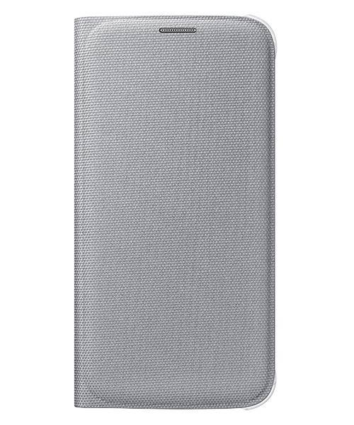 Originální pouzdro na Samsung Galaxy S6 EF-WG920B stříbrné