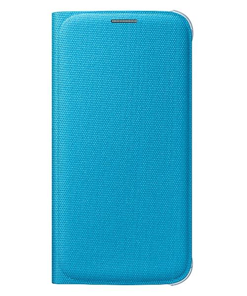 Originální pouzdro na Samsung Galaxy S6 EF-WG920PLE modré
