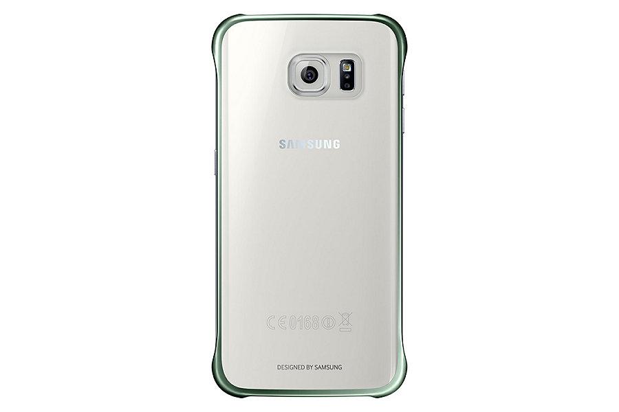 Originální zadní kryt na Samsung Galaxy S6 Edge EF-QG925BGE zelené