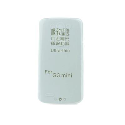 Silikonové pouzdro Ultra Slim 0,3mm pro LG (D722) G3 mini, čiré