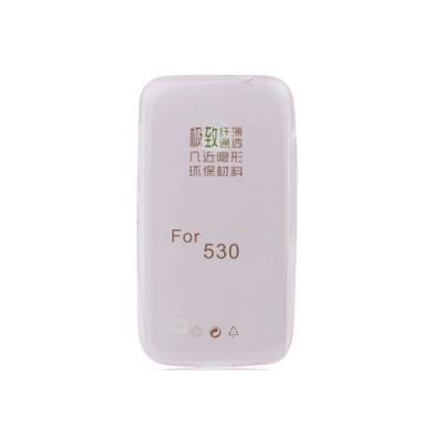 Silikonové pouzdro Ultra Slim 0,3mm pro Nokia Lumia 530, růžové